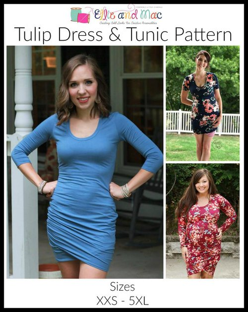 Ellie and Mac Tulip Dress Front Page | LR